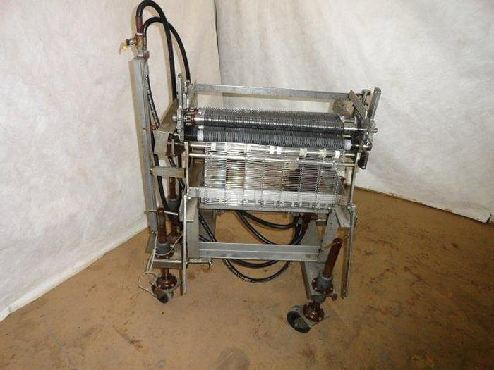 Used Tenderizer / Cuber with square tip knives, hydraulic
