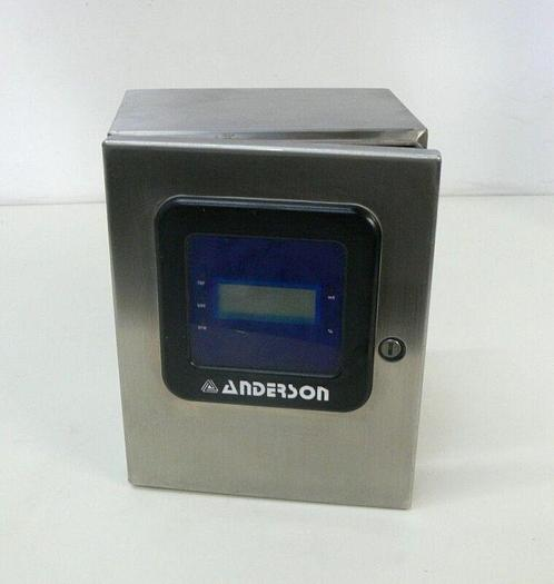 Used Anderson TDL Differential Level Transmitter W/ Stainless Steel Hoffman Enclosure
