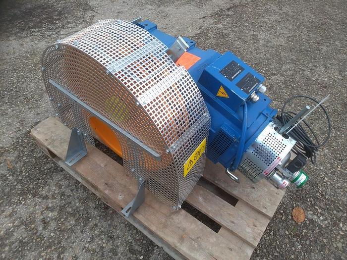 Gebraucht Aufzugsantrieb mit Seilscheibe, Liftmotor, Leo / 240095A, LM Metal Lift