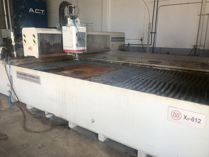 Used 2013 Mitsubishi MW-X3-612 CNC Waterjet Cutting Machine
