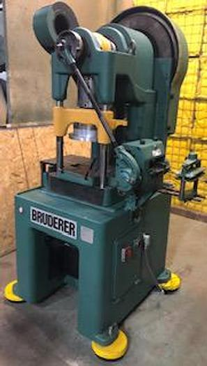 30 Ton, BRUDERER, No. BSTA 30, 3 POST HIGH SPEED PRESS