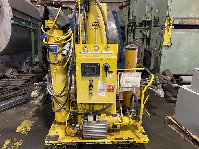 Used PALL PORTABLE OIL FILTRATION SYSTEM