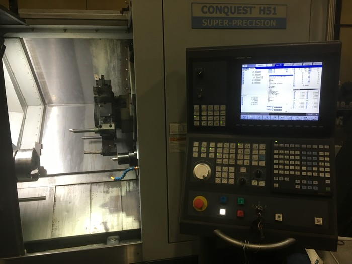 2015 Hardinge H51 SP MYT Multi-Axis Turning Center