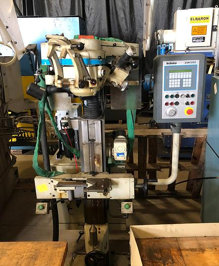 TECHNICA ZSM 5100-815 CNC CENTER HOLE GRINDER