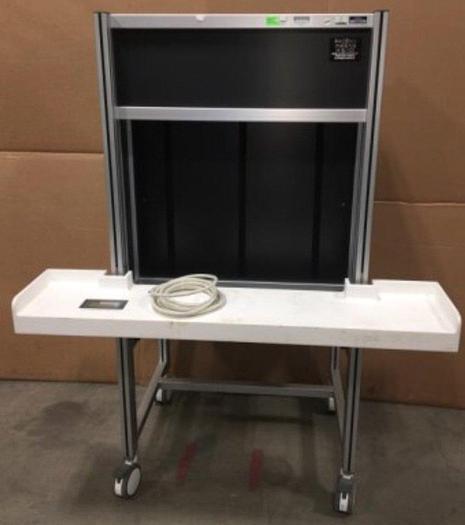 Used Phoenix Imaging Illumination Systems MIB-100 Inspection Booth & Armrest