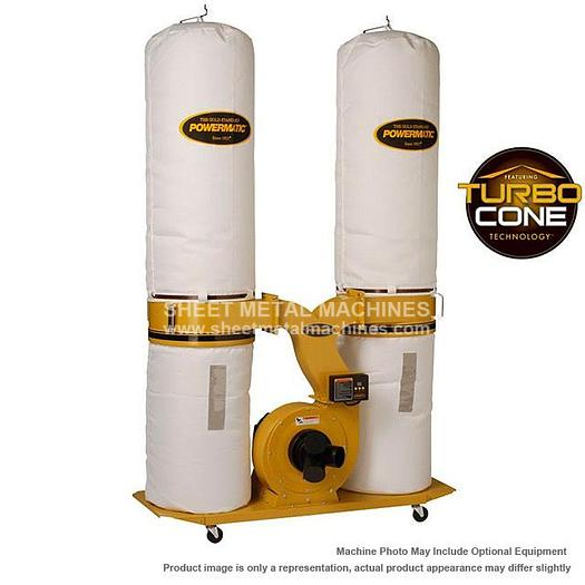 POWERMATIC PM1900TX-BK1 Dust Collector 3HP 1PH 230V 30-Micron Bag Filter Kit 1792071K