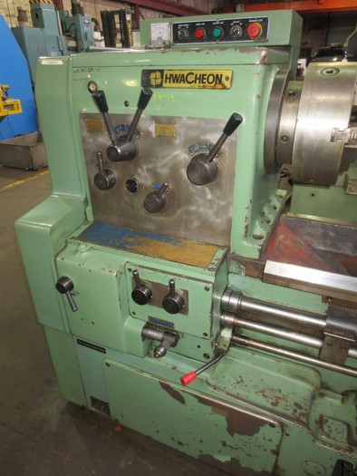 "28"" x 120"" Hwacheon Model HL-720 Heavy Duty Engine Lathe 5546"