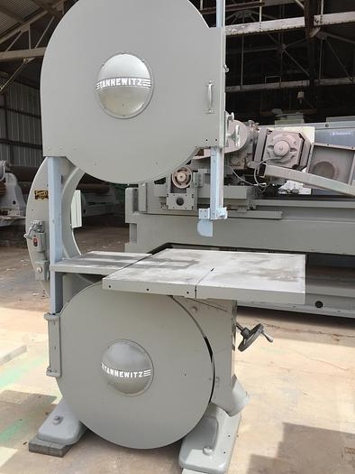 """Used 36"""" Tannewitz Mdl. GH Vert. Band Saw"""