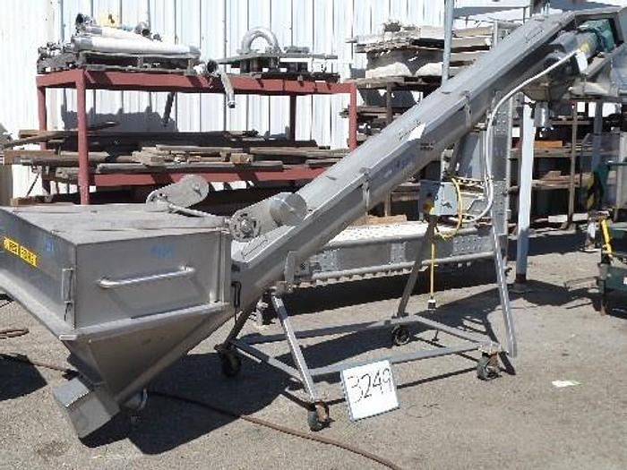Metal Craft Inclined Screw Conveyor/Auger
