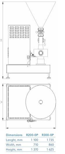 Tetra Pak Recirculation Unit R200-OP and 300P