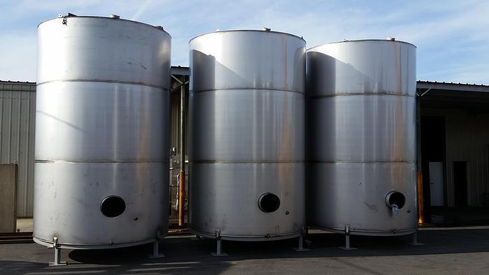 6500 Gallon Stainless Steel Tanks