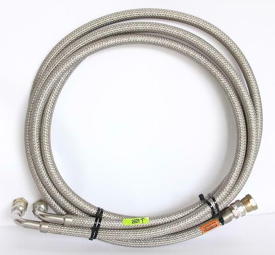 Used CTI Cryogenics 8043074G120, 183-04 NTB, 10 Feet Supply and Return Line (2929T)