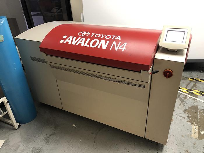 Used 2010 AGFA Avalon N4