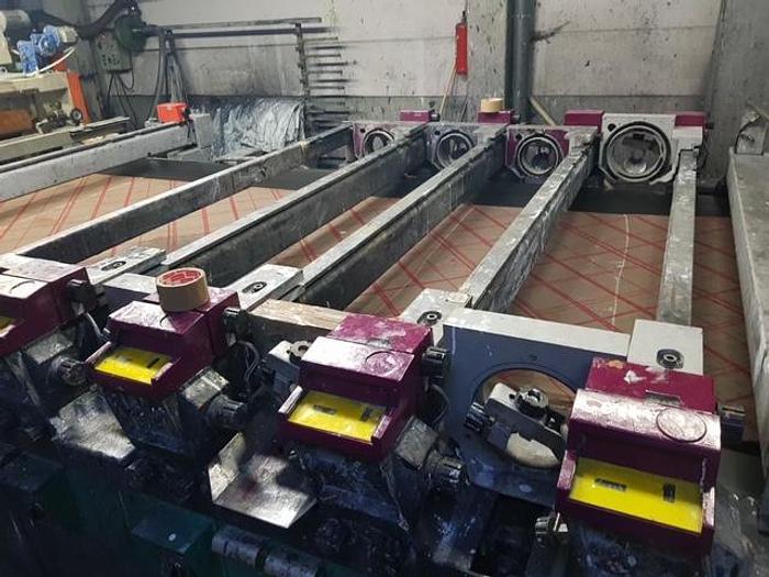Used STORK rotary printing flocking machine