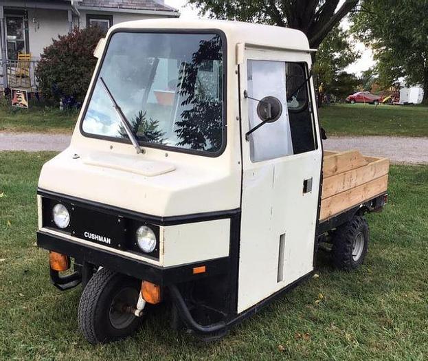 Used 1988 Cushman Truckster - 3 Wheel