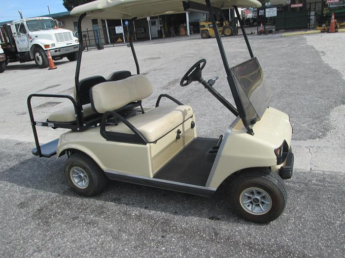 2011 Club Car Gas Golf Cart With Fold Down Rear Seat Or 4 Seater