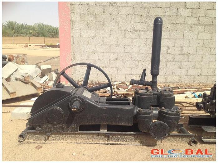 "Used Item 0717 : Gardner Denver FGF XGR 5"" x 6"" Duplex Mud Pump"
