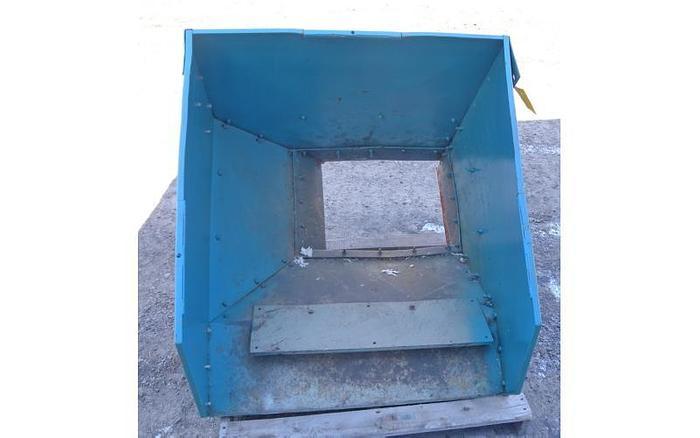 USED SHREDDER, DUAL SHAFT, CARBON STEEL, 10 HP