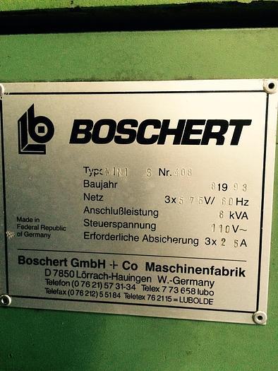 1993 Boschert Mini S Variable Angle Notcher #1562