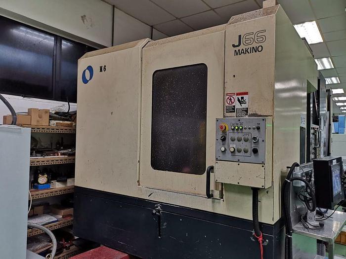 Used Used MAKINO J66 Horizontal Machine Center