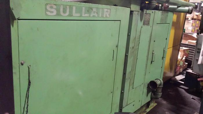 Used 200 HP SULLAIR ROTARY SCREW AIR COMPRESSOR