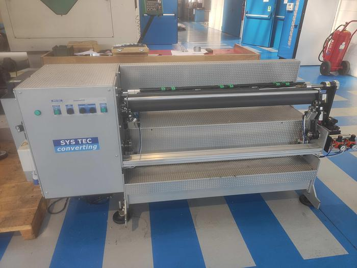 Used 2012 SYS TEC CONVERTING DEMOUNTER 120 - for removing the plates and the tape from  sleeves