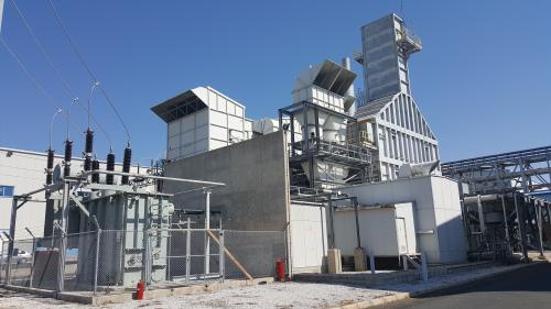 25 MW Used GE LM2500 Natural Gas Generator