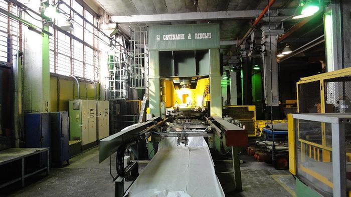 Used Sheet Stamping Line Hydraulic