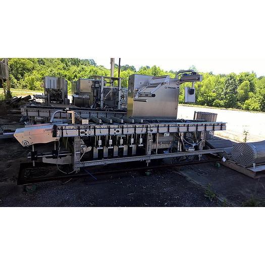 Used Multivac Vacuum Tray Sealer; Md#R-535