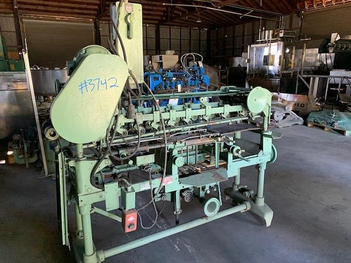 Used Standard -Knapp Roll- Through Can Labeler HOR-1