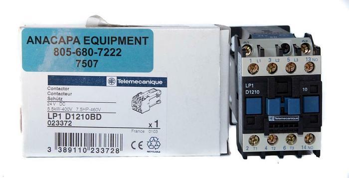 Telemecanique LP1-D1210BD Contactor 24VDC (7507) W