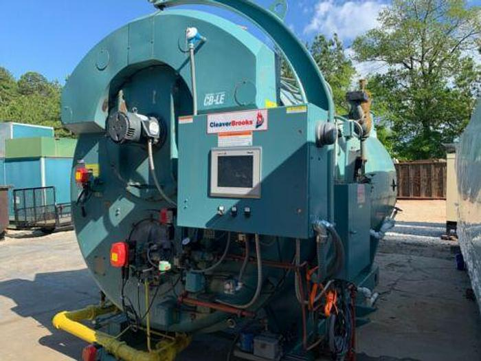 Used Cleaver Brooks 250 HP 150 PSI Steam Boiler