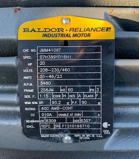 "5""x 4"" 20 Hp Peerless Mild Steel Centrifugal Pump"