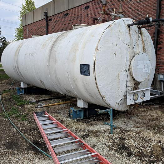 Used 25 Ton Liquid Carbonic Co2 Vessel
