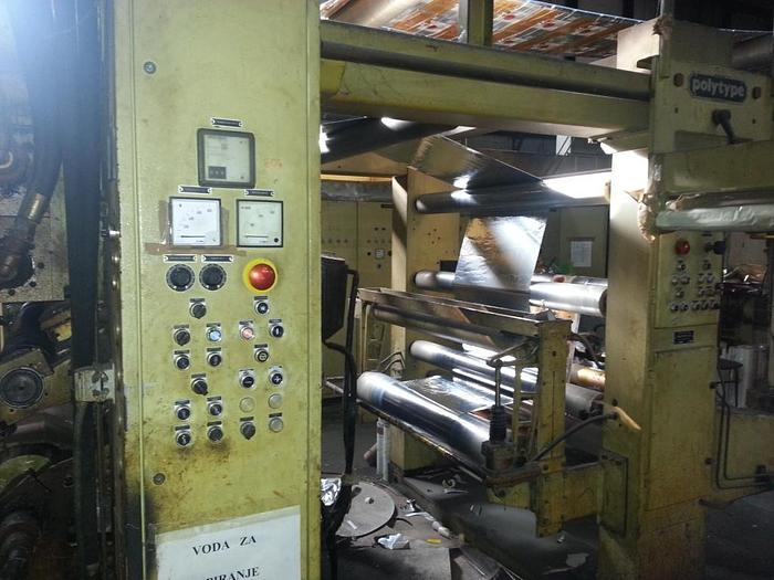 POLYTYPE laminator – 1200 mm – year 1989