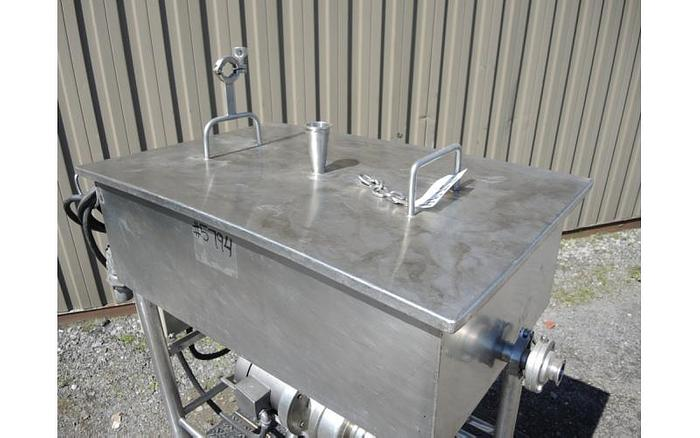 USED 35 GALLON CLEAN OUT OF PLACE ''COP'' SYSTEM, STAINLESS STEEL