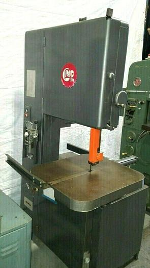 """Used Grob 24"""" Metal Band Saw Bandsaw with Welder & Table Feed in Pristine Condition!"""