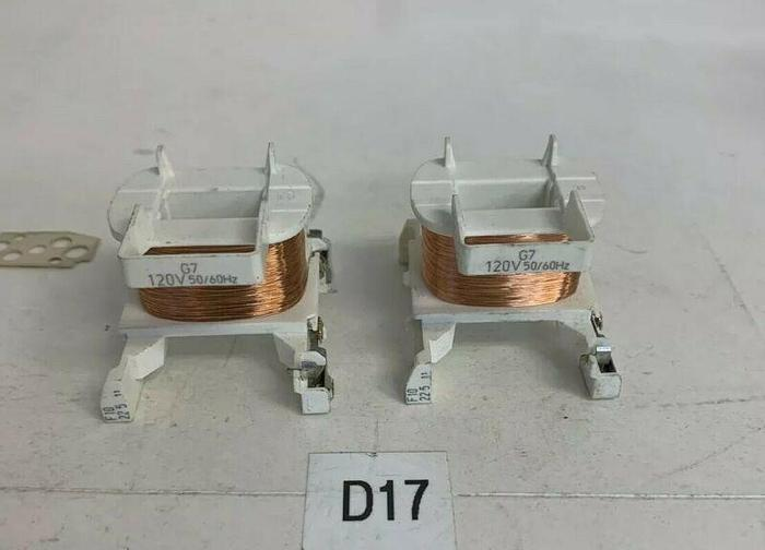 Used G7 Contactor Coil 120V 50/60 Hz (Lot Of 2) Used 30 Day Warranty Fast Shipping!