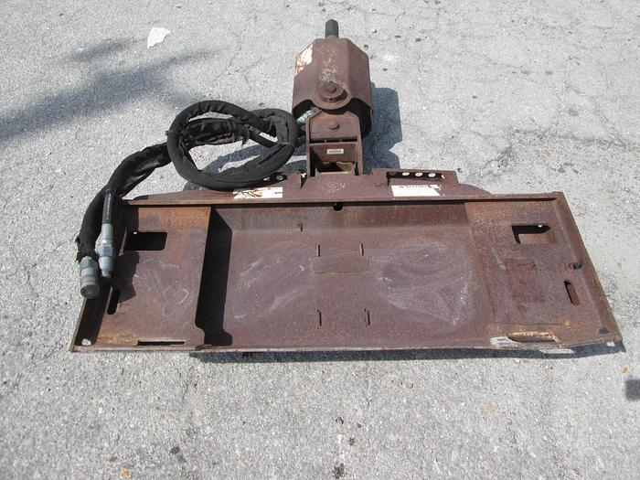 Used Bobcat Brand Skid Steer Auger Attachment