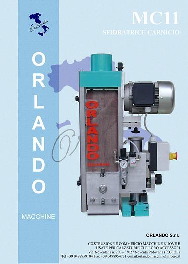 MC11 - SFIORATRICE CARNICIO / BUFFING MACHINE