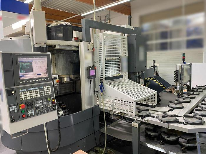 Använd Okuma LVT 300M, från 2012,  vertikalsvarv med fräsfunktion, C-axel