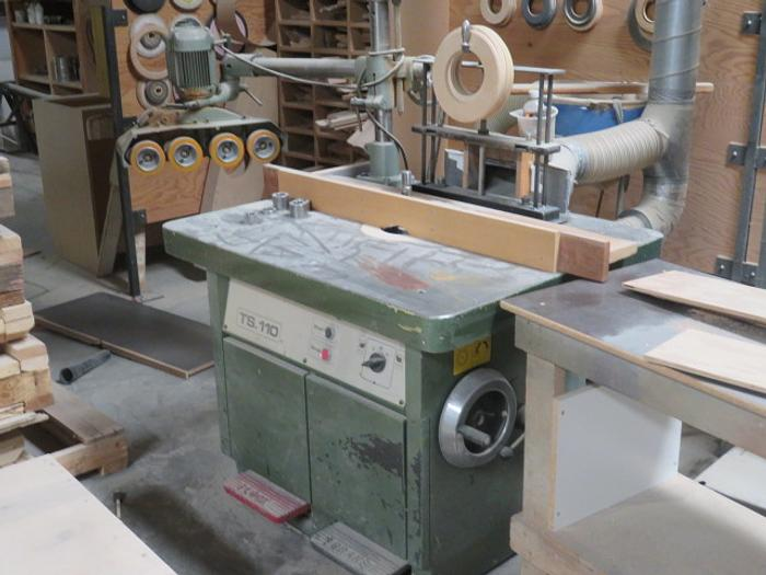 SAC (Forest City Tool) TS 110 Shaper with Power Feeder