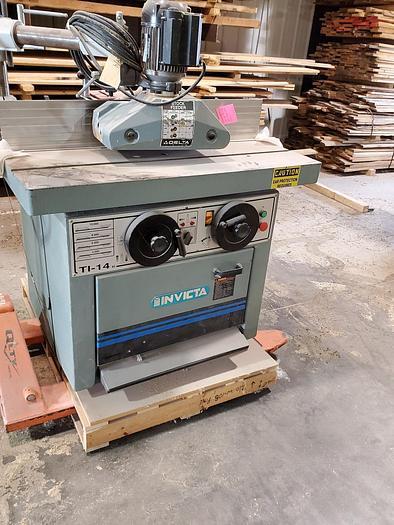 Used Invicta TI-14 Shaper