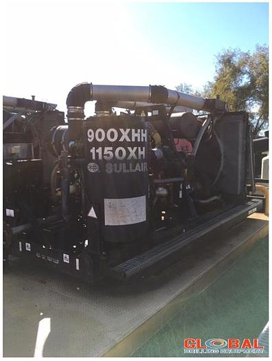 Used Item 0764 : 2008 Sullair 900XHH / 1150 XH Air Compressor 500PSI