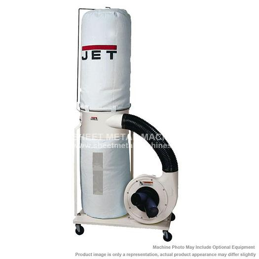 JET DC-1100VX-BK Dust Collector 1.5HP 1PH 115/230V 30-Micron Bag Filter Kit 708657K