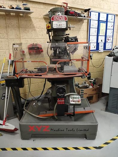 Used 2000 XYZ Edge 1500VS CNC Milling Machine