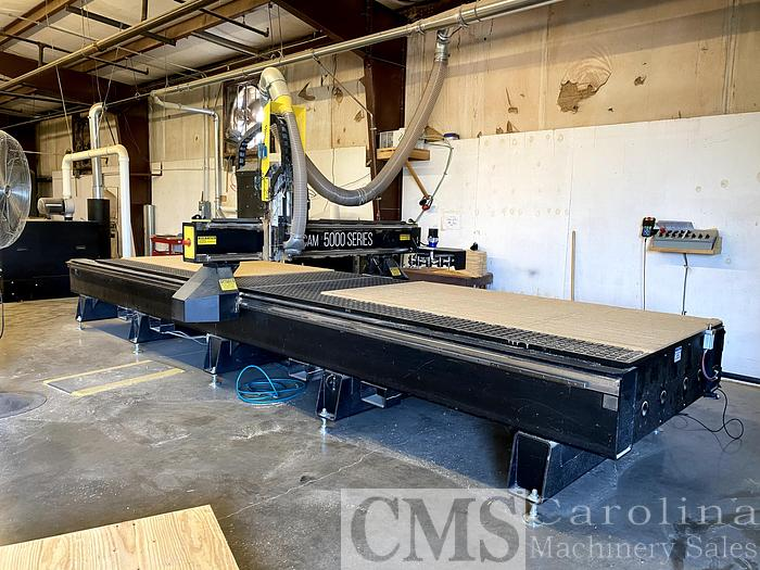 Used 2018 Multicam 5000 Series CNC Router