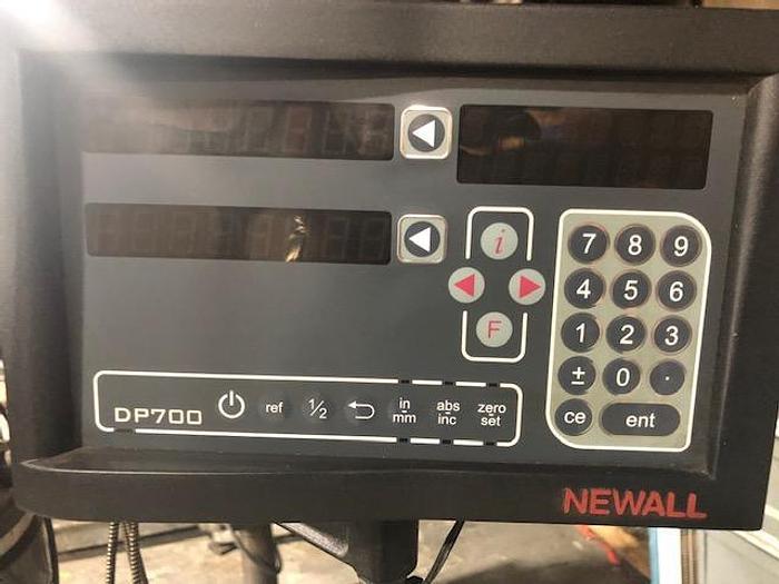 Bridgeport  1-VS - Newell DRO, Servo Power Feed