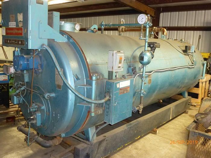 Used 1986 Cleaver Brooks  CB700-100 Hot water Boiler