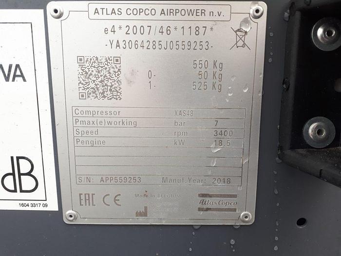 Atlas Copco XAS 48